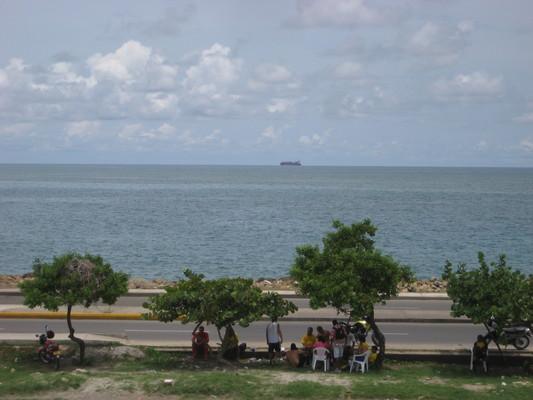 初見加勒比海