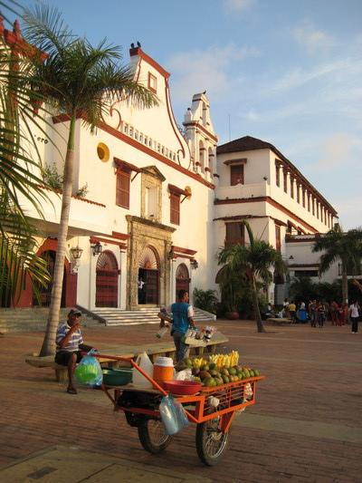 賣醃芒果的小販(Cartagena)