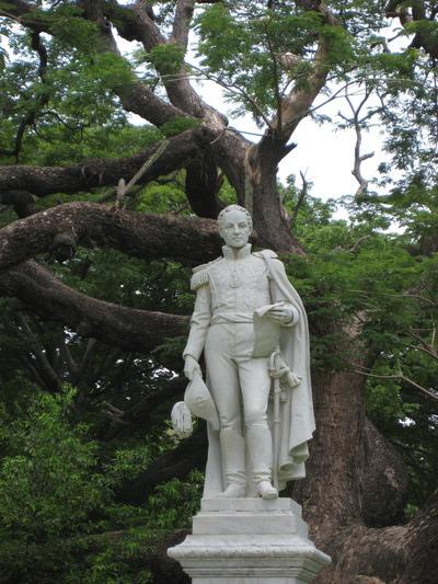 Simon Bolivar(Quinta de San Pedro Alejandrino, Santa Marta)