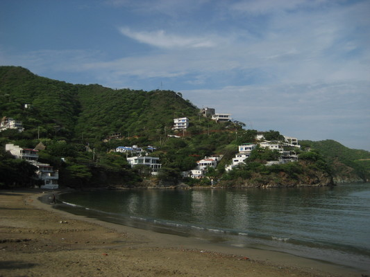 Taganga的海灣