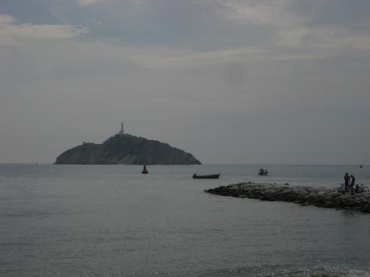 Santa Marta的海灣
