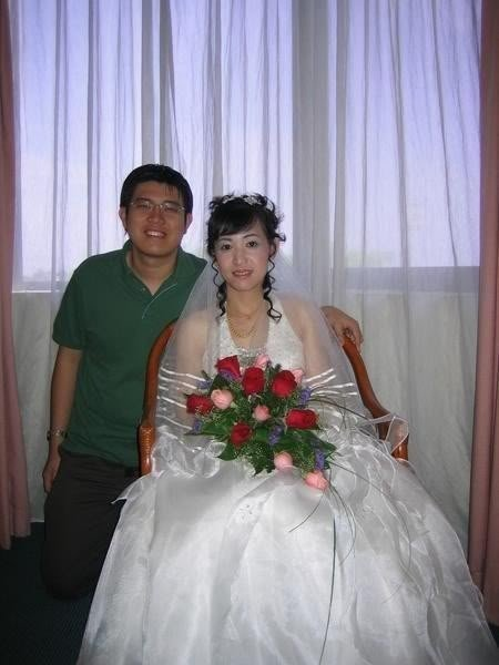 表姐结婚,赞!