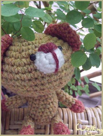 秋天的小笨熊