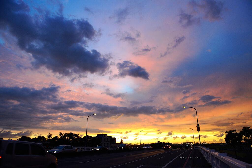 夕陽追追追