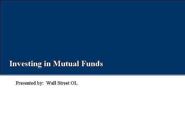 投資共同基金