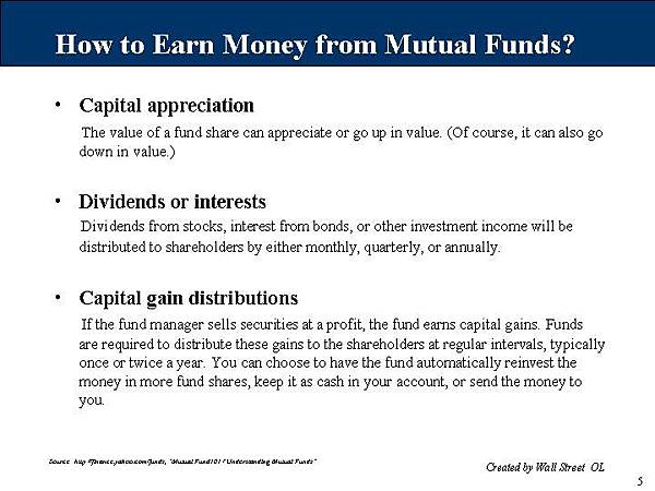 基金如何幫你賺錢?