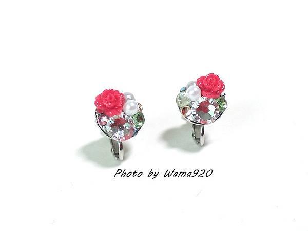 (02)玫瑰花盤