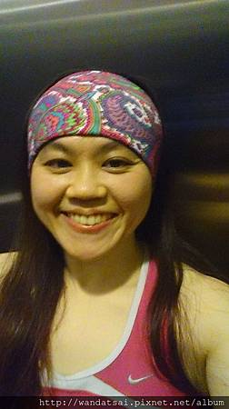 彩色叢林頭巾