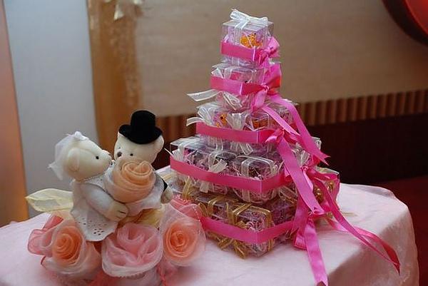 婚禮小物-泰迪熊