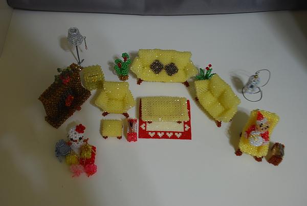 袖珍家具-客廳組-3