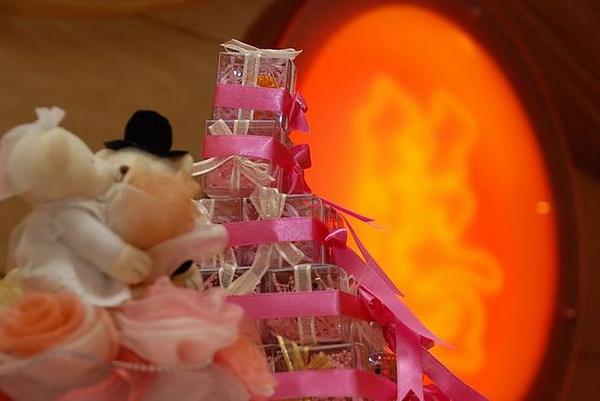婚禮小物-熊熊塔
