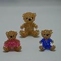 泰迪熊情侶(2mm)