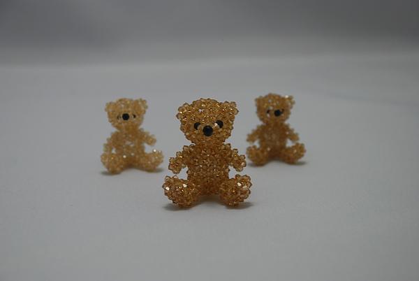 3mm泰迪熊(茶色)