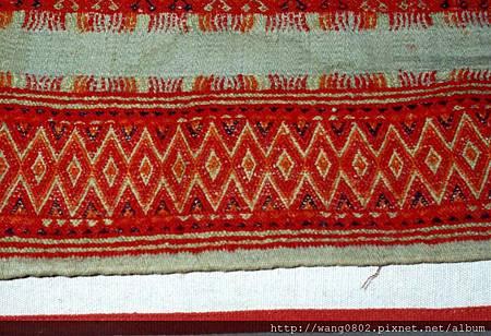 排灣族美麗的夾織