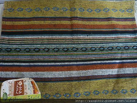 大創的手織布餐墊