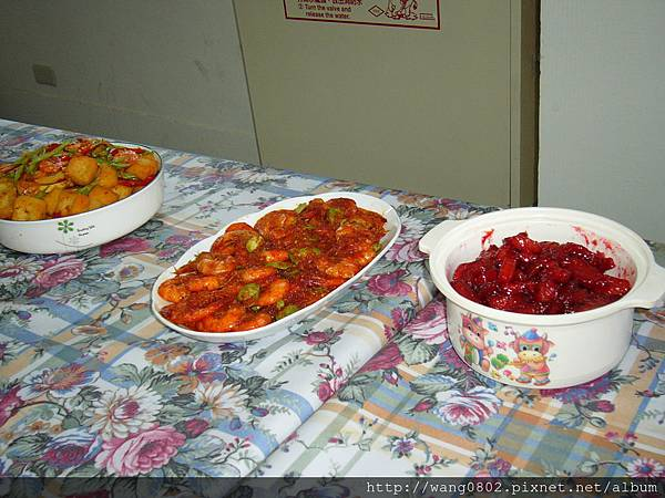 色彩鮮豔的印尼菜
