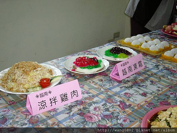 芳菁做的越南佳餚