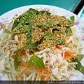 越南餐廳的涼拌木瓜絲.JPG