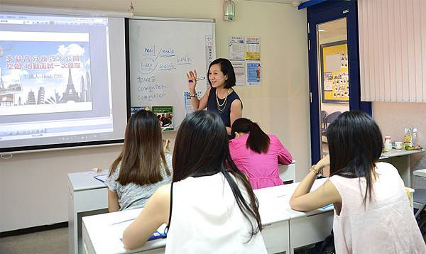 Heidi老師講座生動精彩
