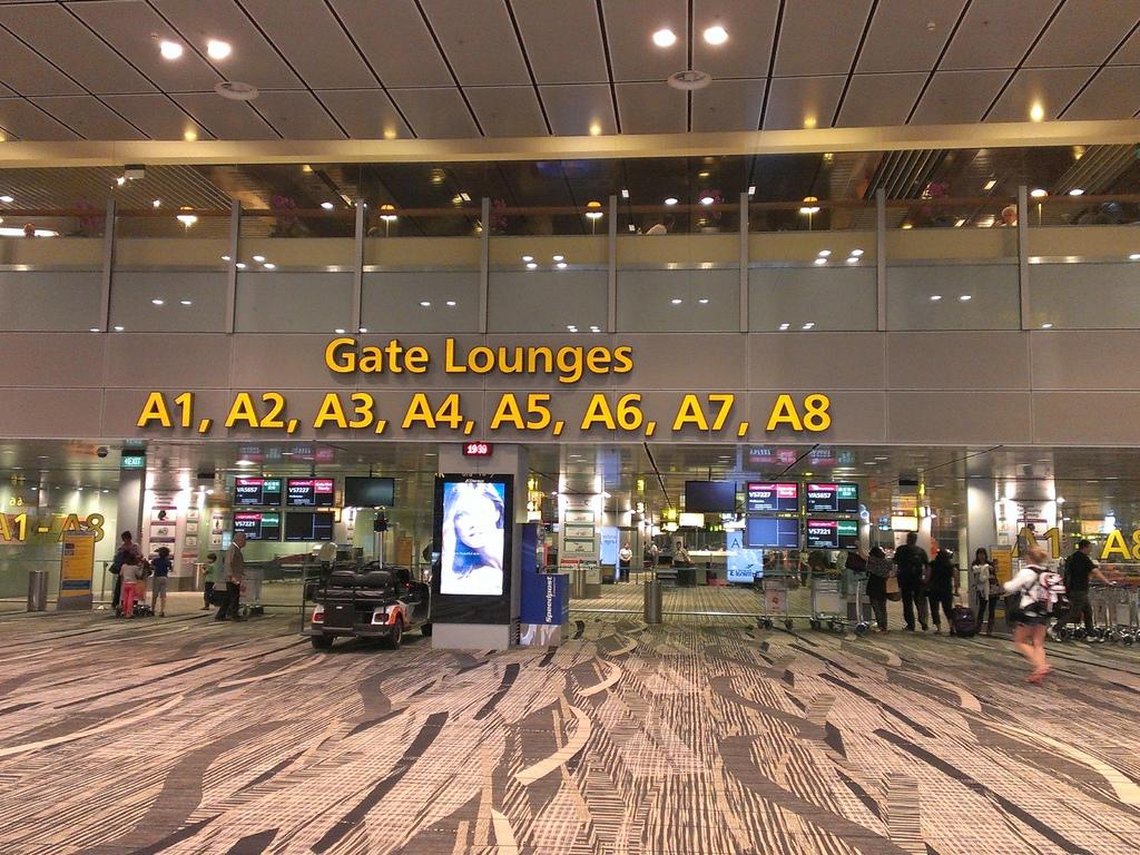 他們機場真的很漂亮