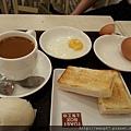 20130404-05土司工坊吃傳統早餐椰咖土司
