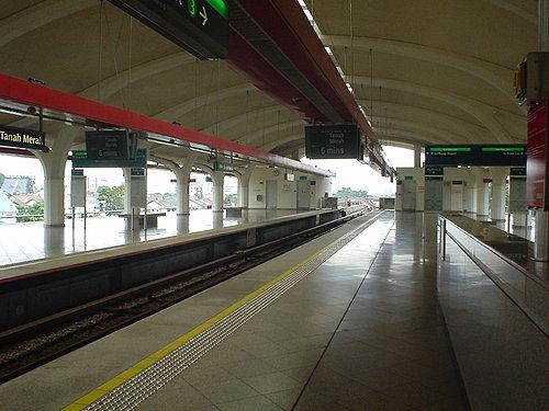 001-從機場塔捷運到這站換車