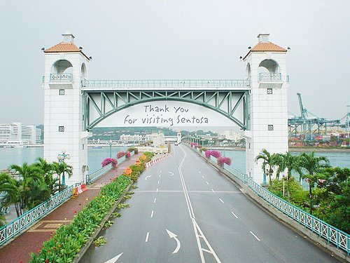 065-從陸路來聖淘沙的橋