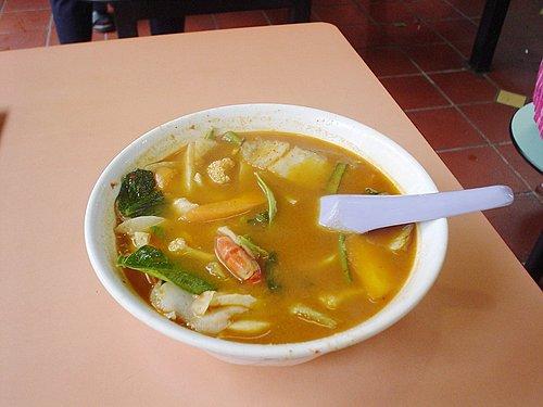 113-在新加坡的最後一餐:小印度區(應該是吧)Tom Yum Soup