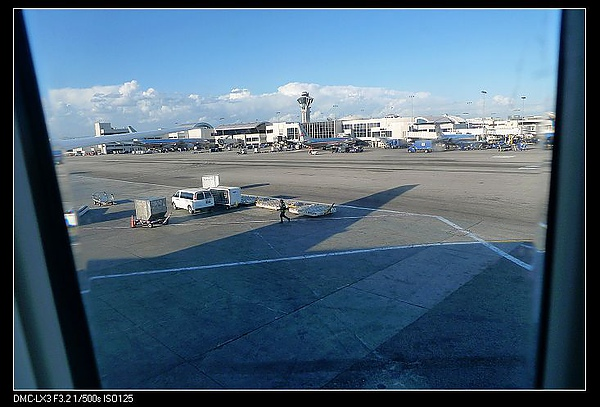 20100331-02到達LAX洛杉磯機場