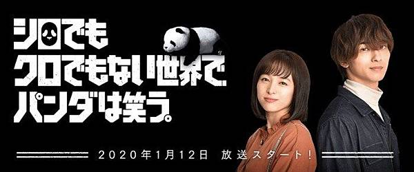 在不白也不黑的世界,熊貓笑了(日劇)