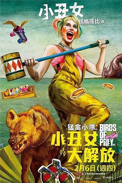 猛禽小隊:小丑女大解(美國電影)
