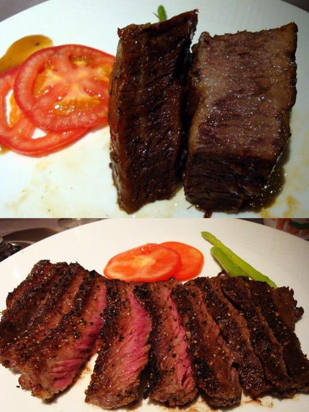 牛肉比較~王品牛排VS酥烤牛小排