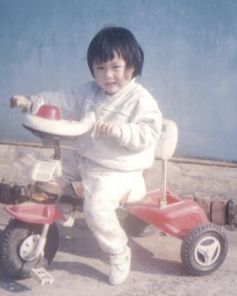 小時候真的很愛騎腳踏車