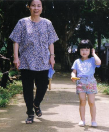 小時候就這麼fashion