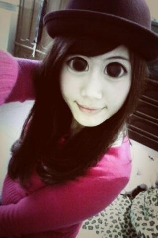 我也要有大眼睛 !!!