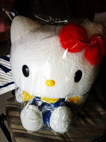 Hey~~~ She is my new friend in my room. Luv u KITTY.jpg