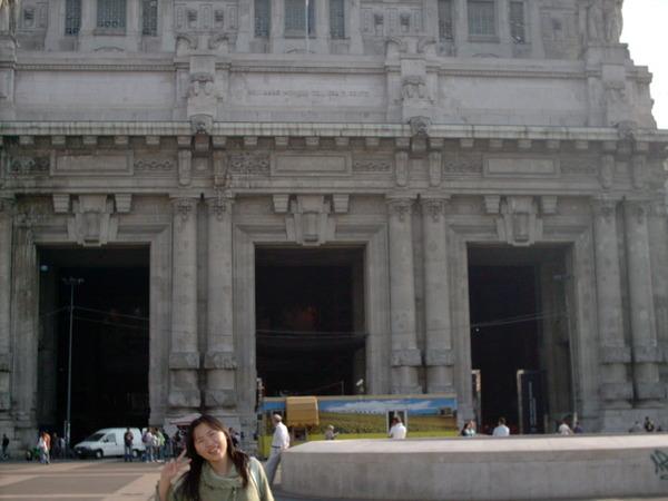 米蘭中央車站與我