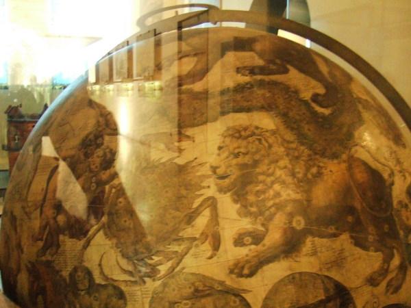 米蘭科學技術博物館的中世紀有趣星象儀之獅子座