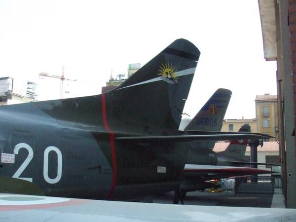 米蘭科學技術博物館之人家也把飛機擺進來了