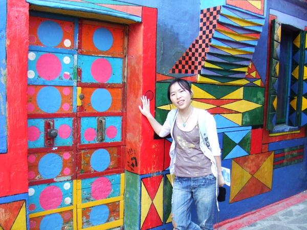 Burano鎮島之寶彩繪屋之合照