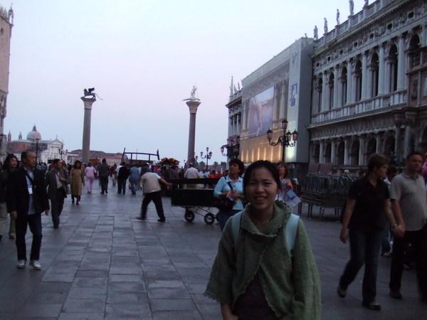 人潮散去之聖馬可廣場