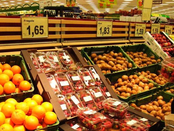 超市入口之新鮮蔬果映滿目part1