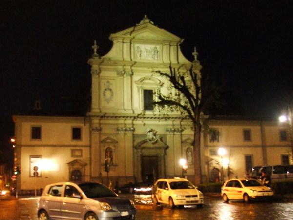 回飯店中途經過之聖保羅廣場&大教堂