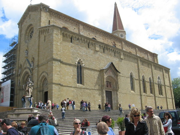 到了到了總算到了之Arezzo大教堂