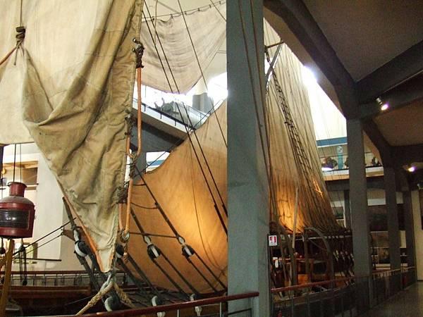 La nave scuola Ebe@義大利達文西科學技術博物館