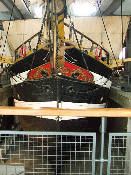 La nave scuola Ebe 船首@義大利達文西科學技術博物館