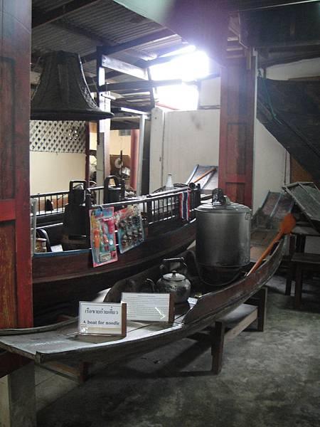 身為麵攤的Rua Sam Pan@泰國船舶博物館