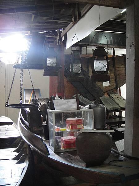 身為超市的Rua Sam Pan@泰國船舶博物館