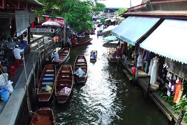 客運碼頭@泰國水上市場