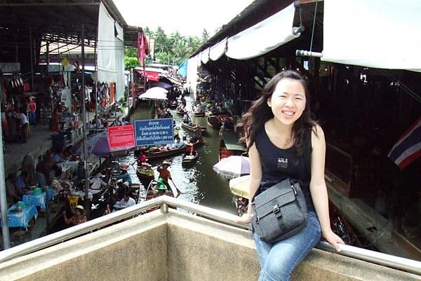 運河、Rua Sam Pan、還有我@泰國水上市場